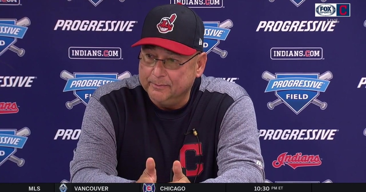 Terry Francona talks about the Tribe's bullpen after a loss | FOX Sports