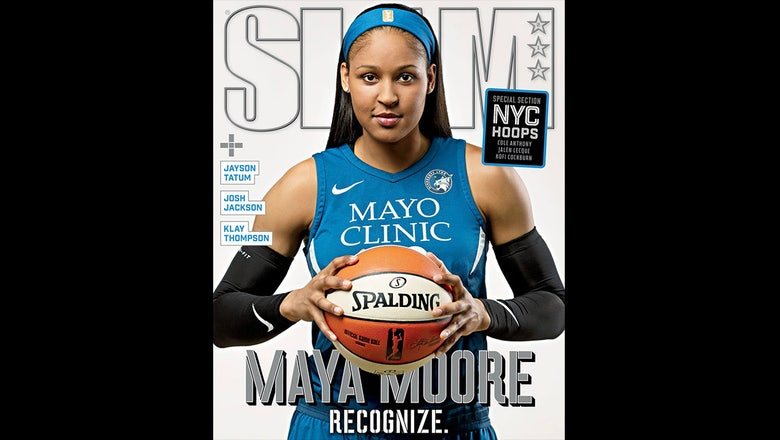 Top Tweets: Maya Moore becomes second woman to cover SLAM