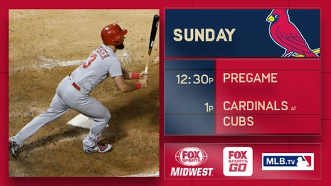 Chatwood gets a victory as Cubs beat Cardinals