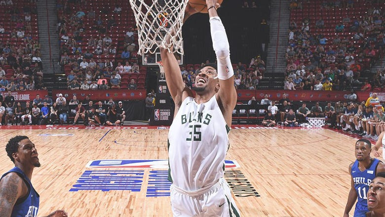 Wood opens eyes after performance with Bucks in summer league