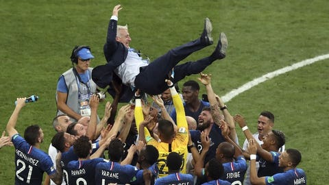 Didier Deschamps becomes third person to win World Cup as player and manager