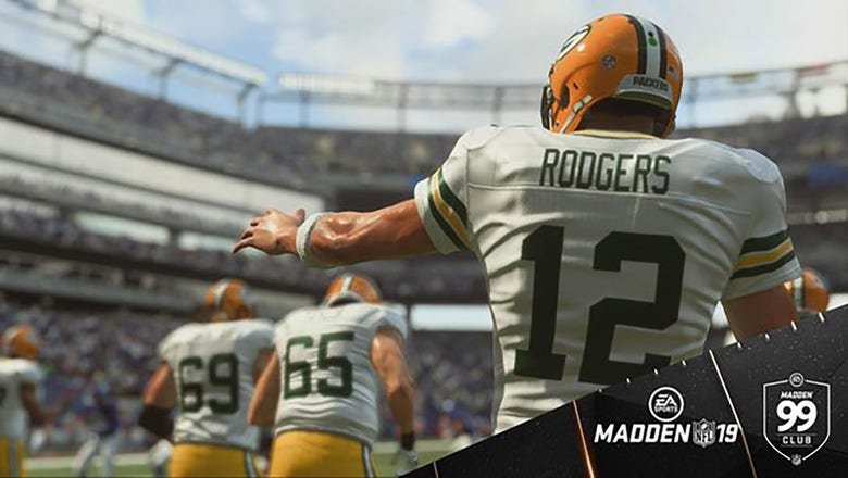 Aaron Rodgers earns max rating in Madden 19