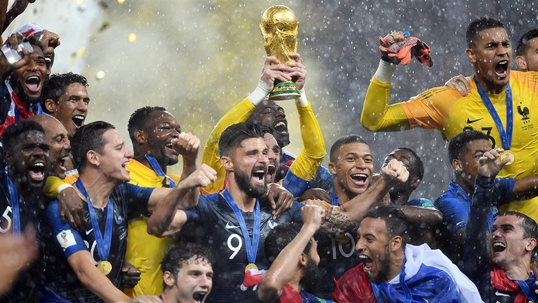 Best images of the 2018 FIFA World Cup™ featuring the Chainsmokers | 2018 FIFA World Cup™