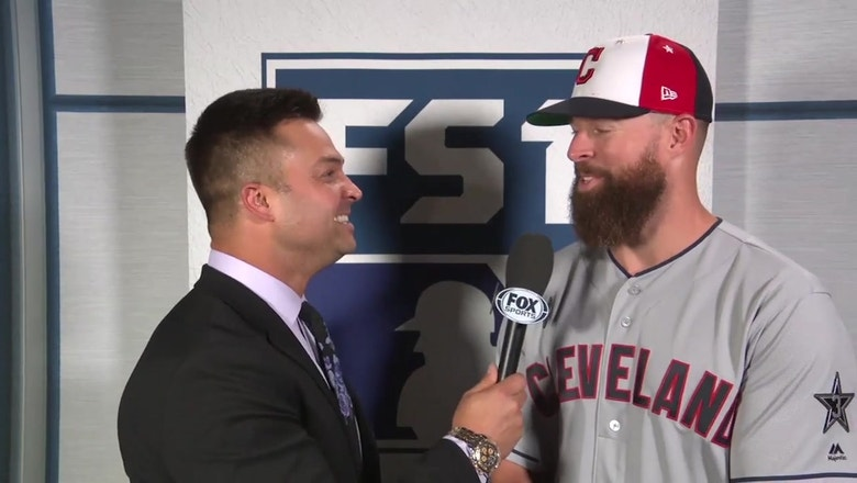 Corey Kluber shows off his incredible humility in an All-Star interview with Nick Swisher