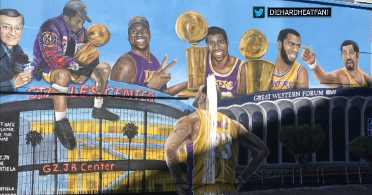 Cris and Nick on what the defacement of the second LeBron mural says about the 'Kobe Bryant cult'