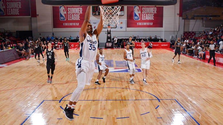 NBA summer league recap: Stingy defense helps Wolves top Nets 78-69