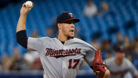 Jose Berrios, Twins pitcher (⬇ DOWN)