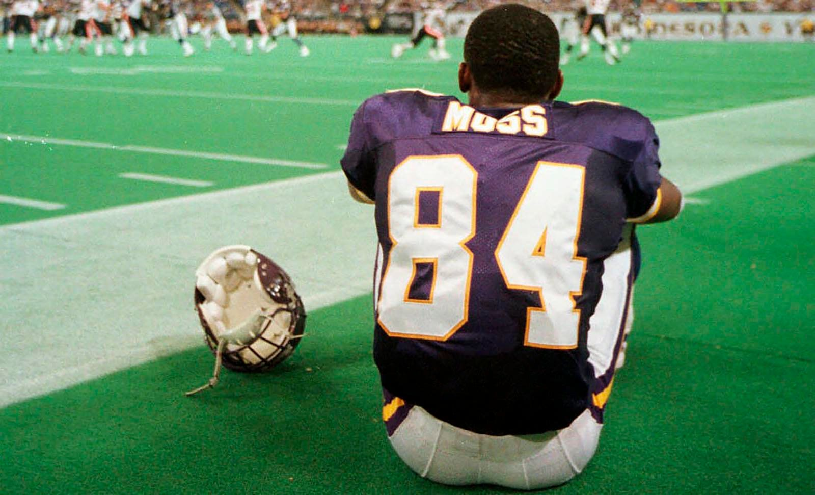 huge discount 4f2ac 48546 After revolutionary career, former Vikings star Randy Moss ...