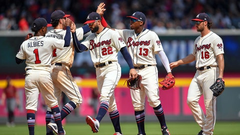 1. Braves enter All-Star break with plenty of positives