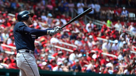 At season's midpoint, Freddie Freeman's season near-mirror image of Chipper Jones' 1999 MVP campaign