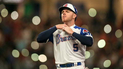 Freddie Freeman outpacing Chipper Jones' MVP run at season's halfway mark