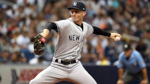 Yankees' Chasen Shreve, Giovanny Gallegos dealt to Cards for Luke Voit