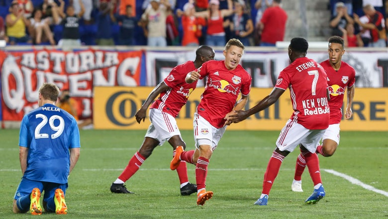 Sporting KC squanders late lead, falls 3-2 to Red Bulls