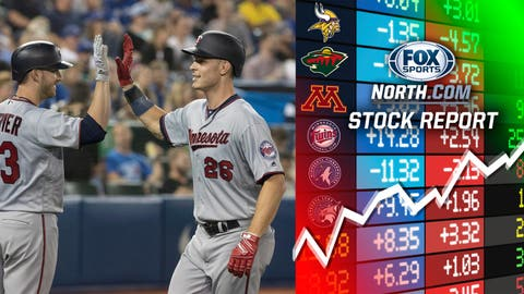 Max Kepler, Twins outfielder (↑ UP)