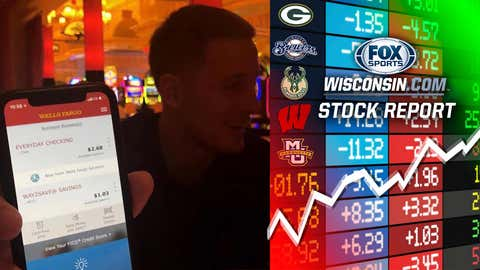 Donte DiVincenzo's bank account (↑ UP)