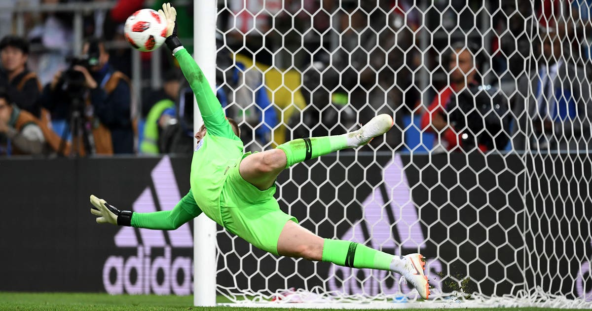FOX Sports' Save Of The Day: Jordan Pickford Comes Up Huge In PKs For England