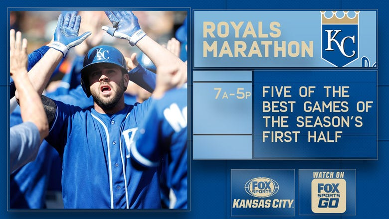 Royals and Sporting KC Marathons air all day Thursday on FSKC