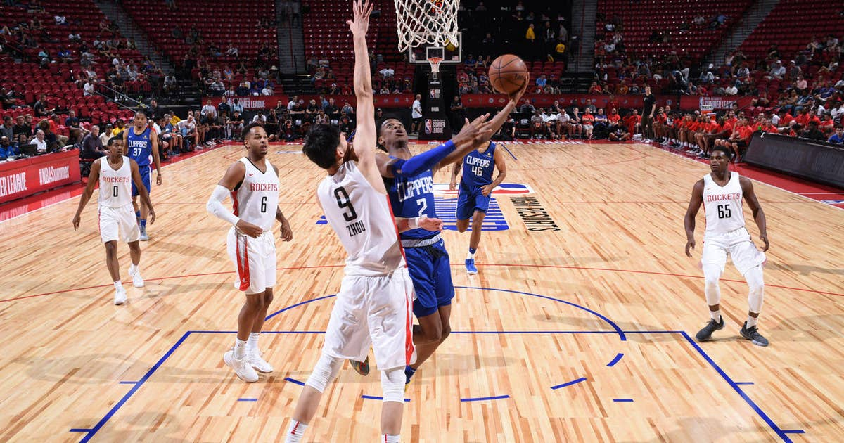 b1f8cdb211e Shai Gilgeous-Alexander shines for Clippers in breakout Summer League  action
