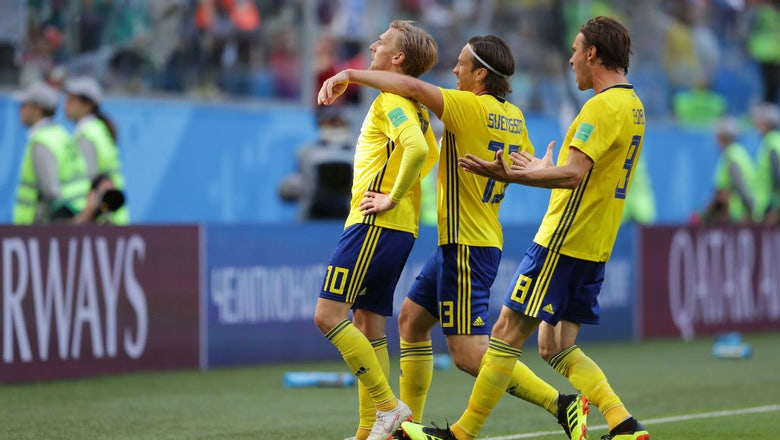 RECAP: Sweden returns to World Cup quarterfinals for first time in 24 years