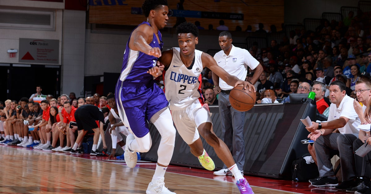 9c5c90b997e Shai Gilgeous-Alexander 'feeling really comfortable' after dominating  performance in Clippers win   FOX Sports