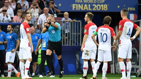 Croatia in dismay after VAR awards France PK