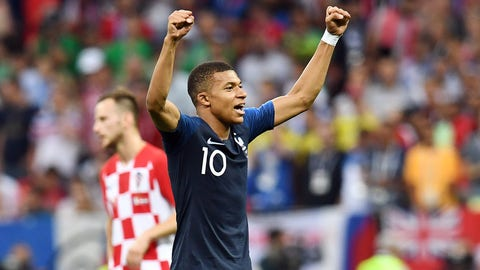 France's Kylian Mbappé becomes first teen since Pele to score