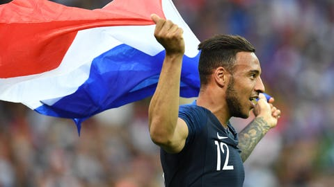 France celebrate winning second World Cup in country's history
