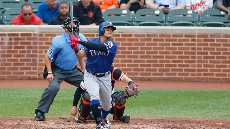 Machado homers, exits early in Orioles' 6-5 win over Texas