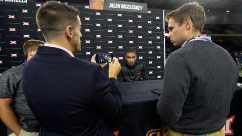 NCAA Football: Big 12 Media Day