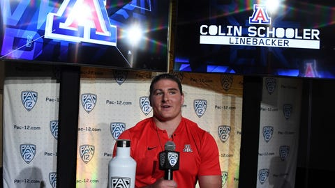 Arizona: Colin Schooler