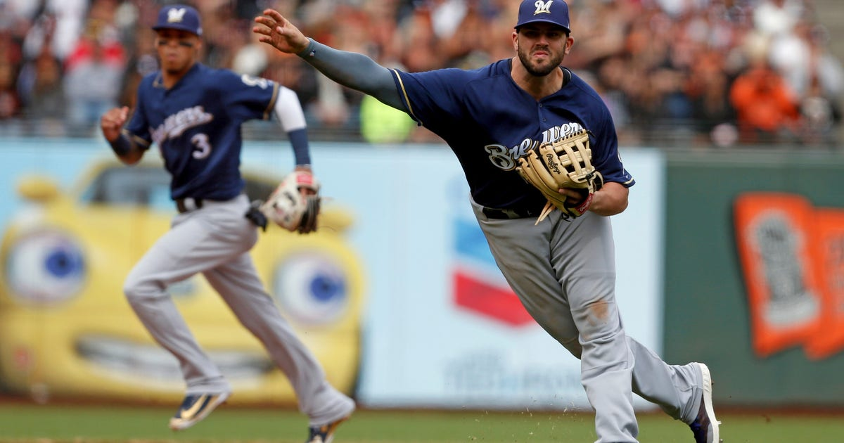 Who Is Brewers Third Baseman Mike Moustakas Fox Sports