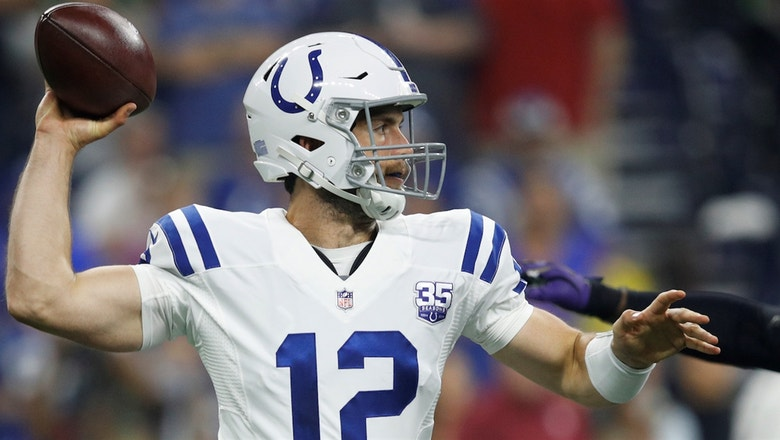 Colin Cowherd says Andrew Luck won't be great this year
