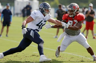 Jameis Winston, Marcus Mariota take field for Buccaneers-Titans joint practices