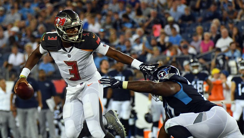 Preseason: Jameis Winston comes off bench for Bucs to throw 2 TDs in 30-14 win over Titans