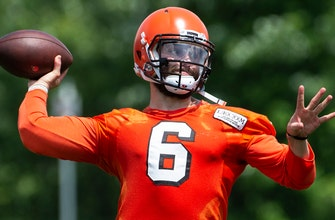 Colin on reports Browns 'floored' by Baker Mayfield at camp