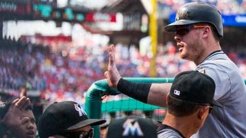 Phillies get Justin Bour from Marlins