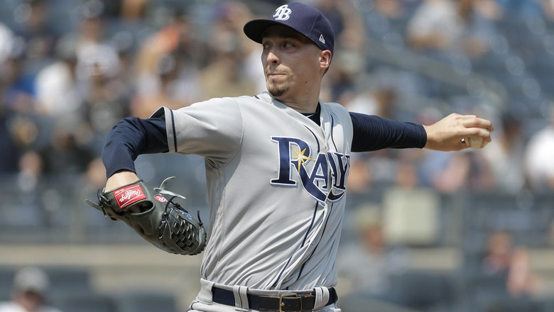 Blake Snell pitches 5 shutout innings, Rays hold off Yankees late to take series in New York