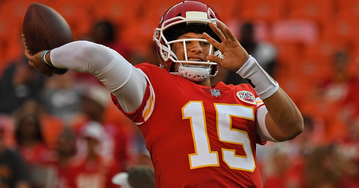 a16f5e022 Peter Schrager  Patrick Mahomes is about to take the league by storm this  year