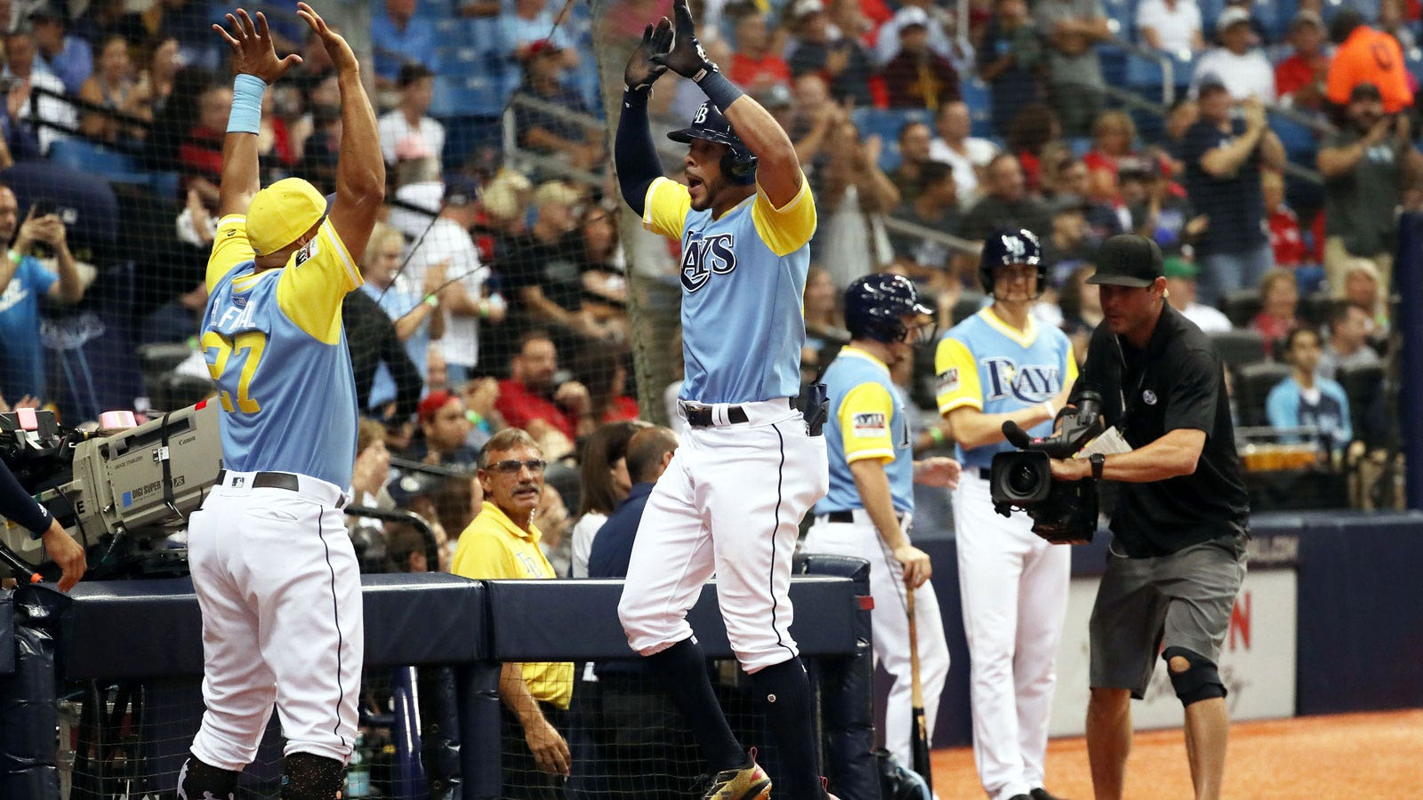 tampa bay rays 5 boston red sox 1