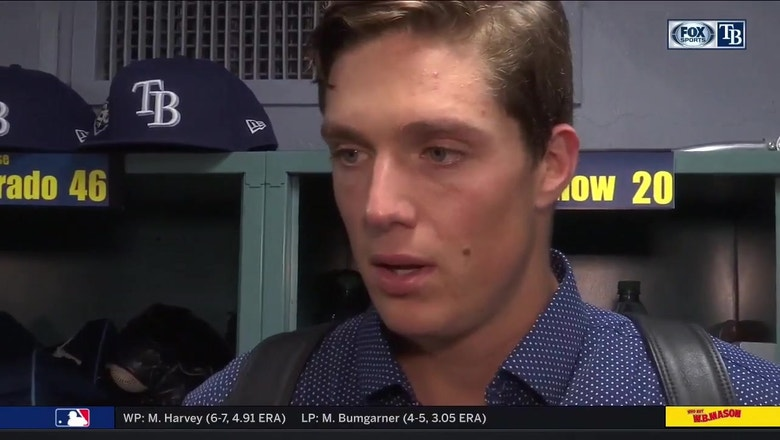 Tyler Glasnow discusses challenge of slowing down the hot bats of Boston