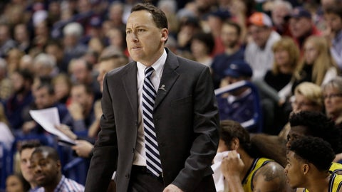 <p>               FILE - In this Nov. 18, 2015, file photo, Northern Arizona coach Jack Murphy watches during the second half of the team's NCAA college basketball game against Gonzaga in Spokane, Wash. Northern Arizona set a record for losses last season has had its worst three-year stretch in 27 years. Murphy said something needs to change. (AP Photo/Young Kwak, File)             </p>