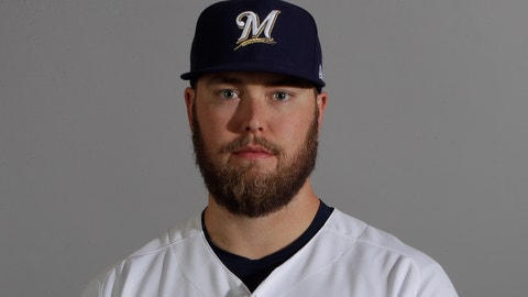 "<p>               FILE - This is a 2018 file photo showing pitcher Jimmy Nelson of the Milwaukee Brewers baseball team. The Brewers are casting doubt on Jimmy Nelson's chances of returning this season. Nelson had shoulder surgery in September after he got hurt diving back to first after rounding the base on a single. ""Jimmy pitching for us this year is unlikely,"" manager Craig Counsell said before Wednesday's, Aug. 15, 2018, game against the Chicago Cubs. ""And that's not due to a setback of any nature. That's just due to the pace of his rehab right now. (AP Photo/Carlos Osorio, File)             </p>"