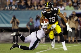 Jones, Dobbs lead Steelers over Eagles 31-14
