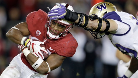 <p>               FILE - In this Nov. 10, 2017, file photo, Stanford running back Bryce Love, left, carries the ball as Washington linebacker Connor O'Brien attempts to tackle him during the first half of an NCAA college football game in Stanford, Calif. After almost single-handedly carrying Stanford's offense last season with a breakaway run seemingly every week, Bryce Love figures to get plenty of help in 2018. The Cardinal enter the season with one of their most potent offenses in years surrounding their record-setting back who passed up a chance at the NFL for one more year on The Farm. (AP Photo/Marcio Jose Sanchez, File)             </p>
