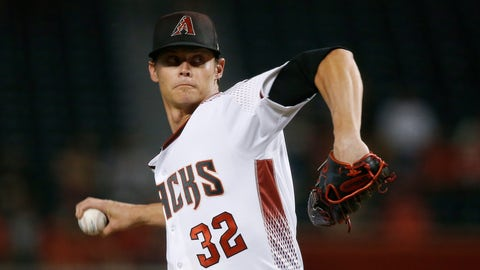 <p>               Arizona Diamondbacks starter Clay Buchholz throws a pitch to a  Los Angeles Angels batter during the first inning of a baseball game Wednesday, Aug. 22, 2018, in Phoenix. (AP Photo/Ross D. Franklin)             </p>