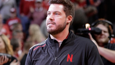 <p>               FILE - In this Jan. 27, 2018 file photo Nebraska football defensive coordinator Erik Chinander is introduced to fans at halftime of an NCAA college basketball game against Iowa in Lincoln, Neb. Nebraska's defense returns six full-time starters from a 2017 unit that allowed more than 50 points in four games and ranked among the worst in the nation in most statistics. Chinander in 2016 inherited a Central Florida defense that ranked 113th in the nation the year before. In his first year with UCF, the Golden Knights allowed 13 fewer points and 94 fewer yards per game and they climbed 74 spots to 39th nationally in total defense. (AP Photo/Nati Harnik, file)             </p>