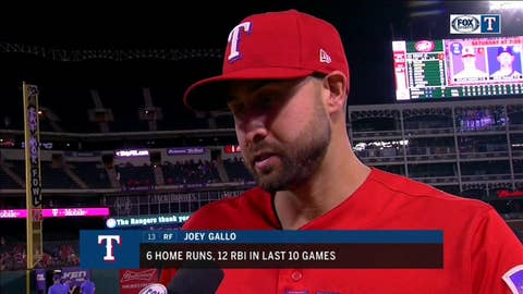 Joey Gallo goes deep to help Rangers rout O's
