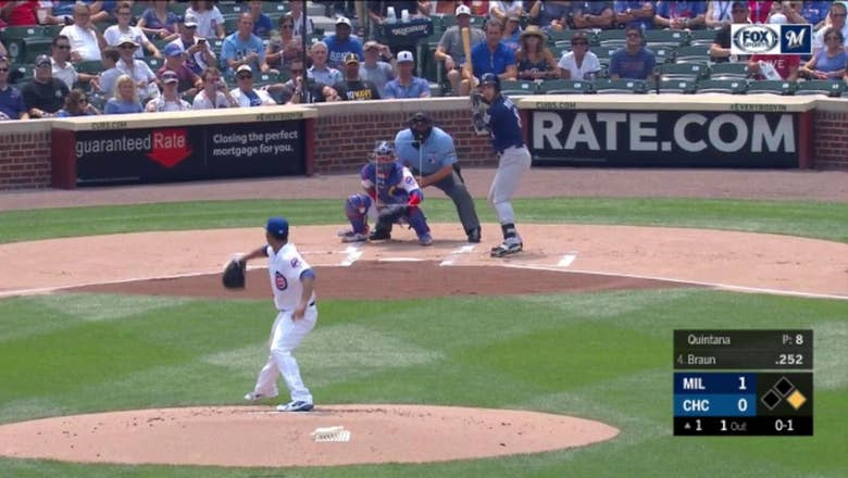 WATCH: Ryan Braun hits 2 more homers at Wrigley Field