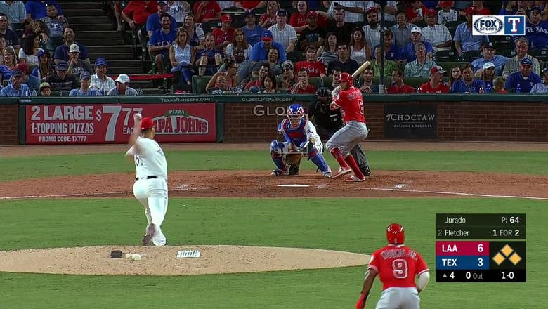 HIGHLIGHTS: Rangers Turn Triple Play in 4th | Angels at Rangers