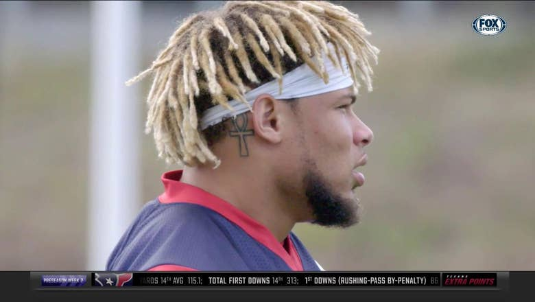 What Tyrann 'Honey Badger' Mathieu Brings to the Defense | Texans Extra Points